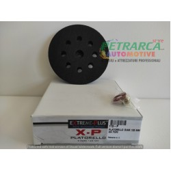 BACKING PAD FOR PNEUMATIC POLISHER DIAMETER 125mm 9 HOLES EXTREME PLUS