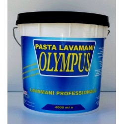 Handwashing in professional pasta with olive kernel