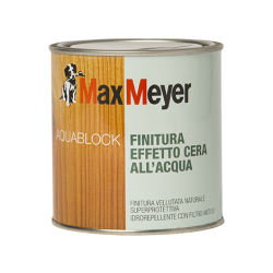 AQUABLOCK WAX-EFFECT FINISH